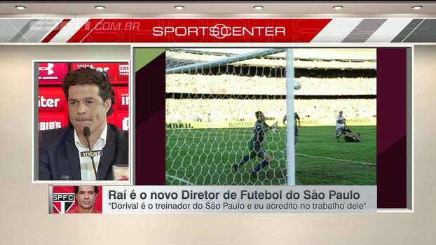 Raí aponta estilo de jogador e time que pensa para o São Paulo