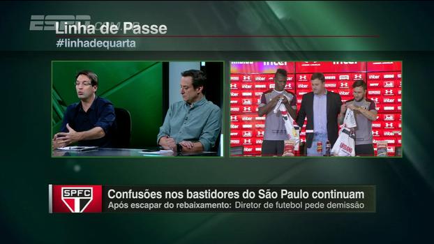 Arnaldo diz que saída de Pinotti é reflexo de administração ruim de Leco e estranha Raí ser cogitado à vaga