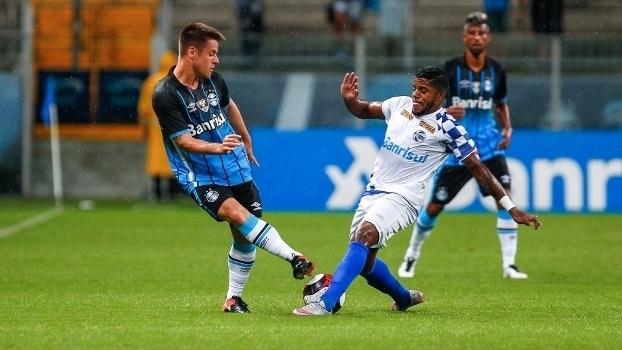 Veja os gols do empate em 1 a 1 entre Grêmio e São José