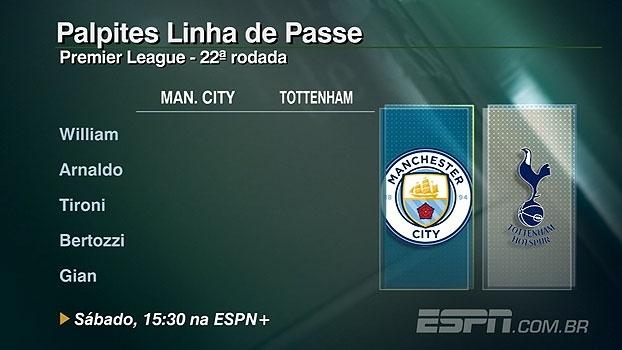 Chape x Palmeiras e Premier League: veja os palpites do 'Linha de Passe'