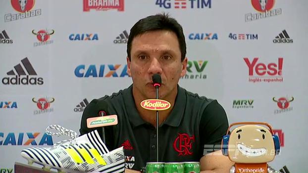 Após sofrida vitória, Zé Ricardo exalta necessidade dos 3 pontos, fala de ansiedade e diz: 'Somos seres humanos'