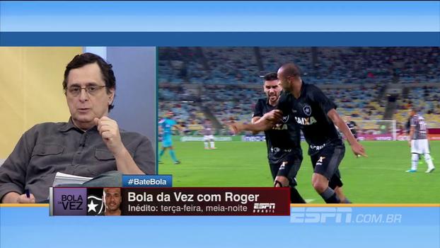 Antero diz que o Botafogo deveria ter tido atitude 'mais serena' em relação ao caso Roger, mas levanta questões