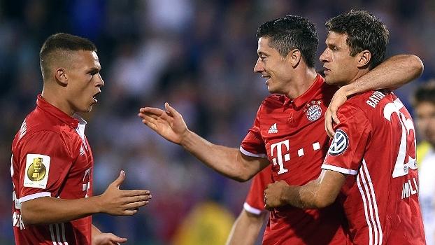 Copa da Alemanha: Gols de Carl-Zeiss Jena 0 x 5 Bayern de Munique