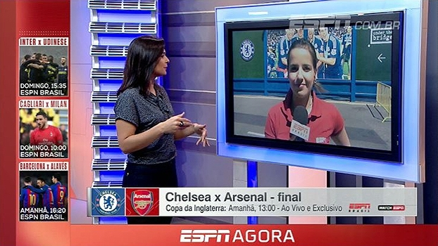 Doblete do Chelsea? Natalie Gedra fala das expectativas pela final da Copa da Inglaterra