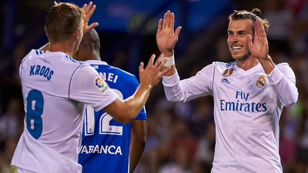 LaLiga: Gols de Deportivo La Coruña 0 x 3 Real Madrid