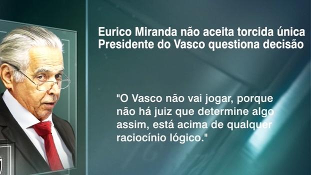 Comentaristas do 'Linha de Passe' aprovam declaração de Eurico sobre torcida única no RJ