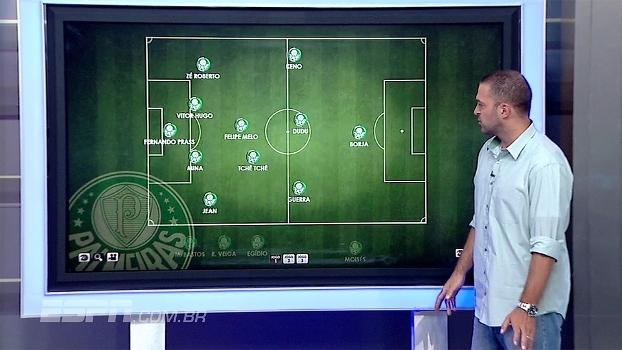 Zé Elias escala time ideal do Palmeiras para a estreia na Libertadores