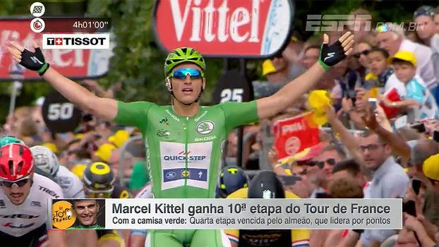 Marcel Kittel ganha 10ª etapa e lidera Tour de France por pontos