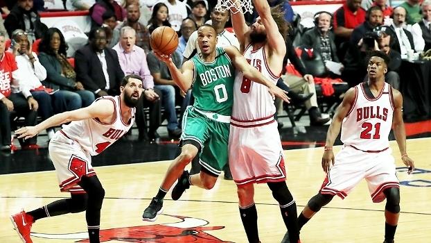 Assista aos melhores momentos da vitória dos Celtics sobre os Bulls por 105 a 83!
