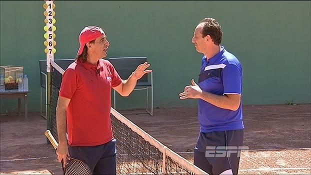 Entrando de Fininho: Fernando Meligeni recebe Rogério Ceni, que fala sobre sua relação com o tênis