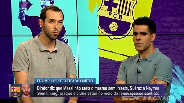 Hofman analisa polêmica envolvendo vice do Barça e Messi: 'Declarações assim não ajudam em nada'