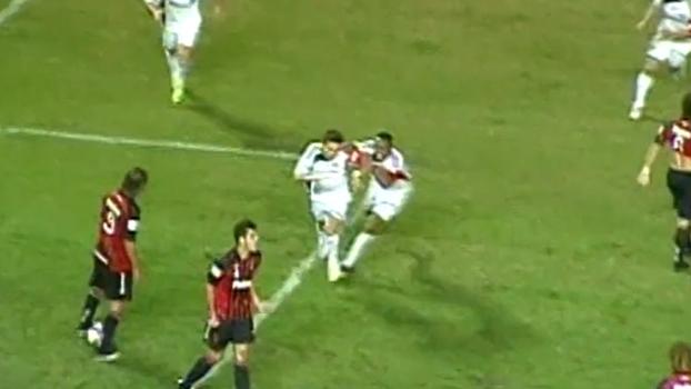 Com gols de Obina e Keirrison, Palmeiras arrancou empate nos acréscimos do Atlético-PR em 2009