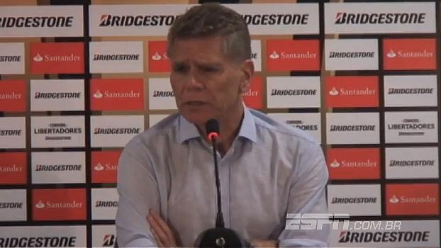 Autuori analisa empate com Deportivo Capiatá: 'Erramos no momento em que não podíamos errar'