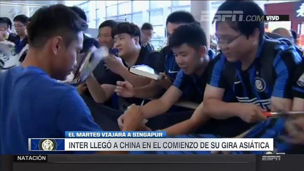 Internazionale já está na China para participar de torneio amistoso