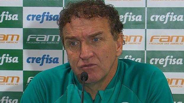 Cuca revela dica de Zé Roberto e vê 'jogo aberto' no Allianz Parque