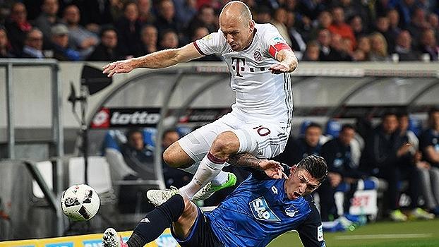 Bundesliga: Gol de Hoffenheim 1 x 0 Bayern de Munique