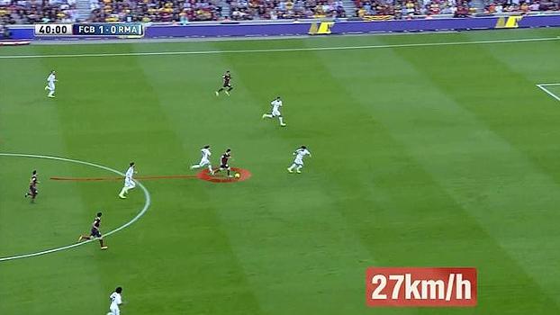 Arrancada de Messi, gol de Neymar e jogada de Ronaldo; Bertozzi analisa lances de Barça e Real