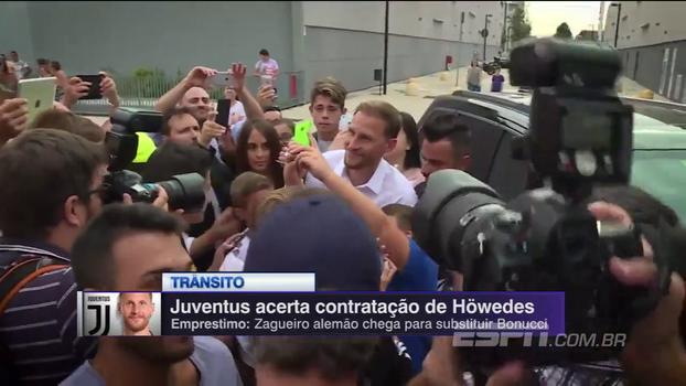 Zagueiro ex-Schalke e campeão do mundo em 2014 acerta com a Juventus; veja a chegada a Turim
