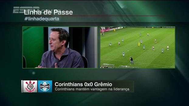 Gian analisa Corinthians x Grêmio: 'A intensidade até mudou, mas a criatividade continuou pequena'