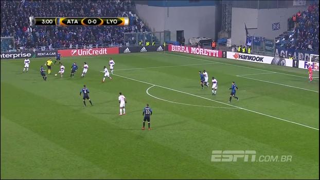Europa League: Melhores momentos de Atalanta 1 x 0 Lyon