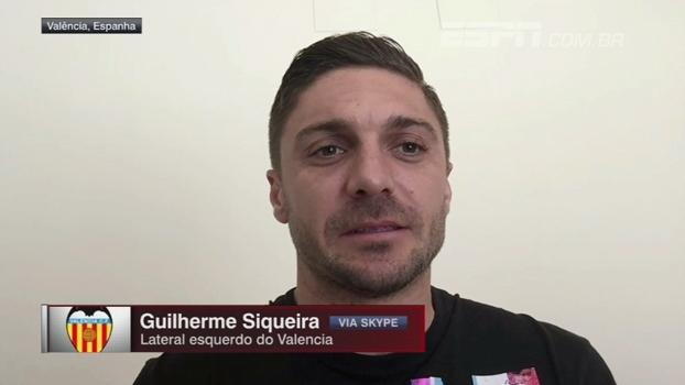 Guilherme Siqueira diz que Valencia espera surpreender Barcelona no Camp Nou