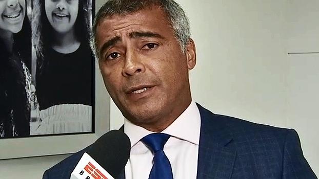 Romário cobra explicações da CBF, 'entidade mais corrupta do futebol'