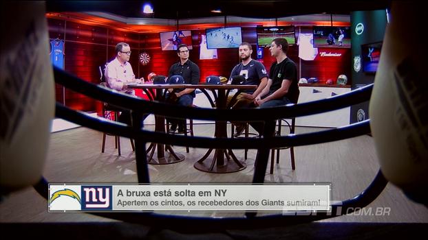 Leva de contusões e 0% de aproveitamento: ESPN League analisa péssima fase dos Giants