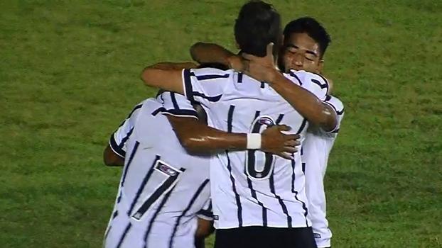 Veja os melhores momentos da vitória do Corinthians sobre a Chapecoense por 1 a 0 pela Copa do Brasil sub-17