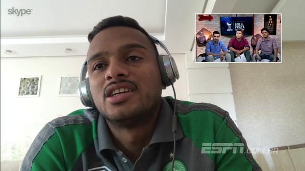 Reinaldo fala sobre a possibilidade de ser eleito melhor lateral-esquerdo na Bola de Prata: 'Vai ser um sonho'
