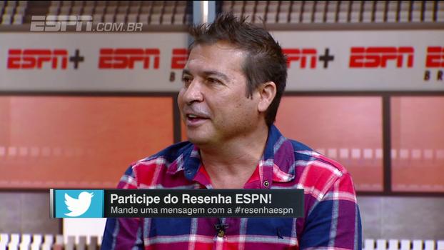 Participantes do Resenha comentam provocação de Luan a Thiago Neves e Luizão aprova: 'Cutucou, segura!'