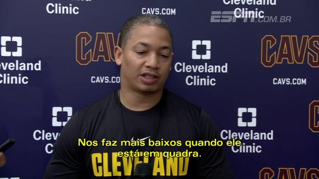 Técnico dos Cavs elogia inteligência de Wade e versatilidade do time