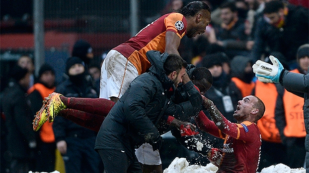 Champions League: Gol de Galatasaray 1 x 0 Juventus