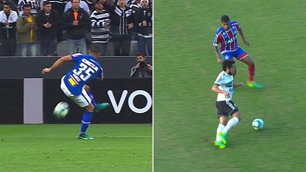 Pontaria furada no Cruzeiro e no Sport, gravidade no Coritiba e mais nos lances curiosos do SportsCenter
