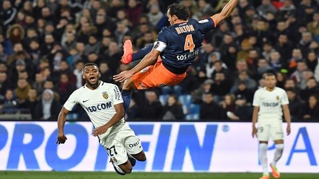 Francês: Gols de Montpellier 1 x 2 Monaco