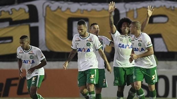 Brasileiro: Gols de Botafogo 0 x 2 Chapecoense