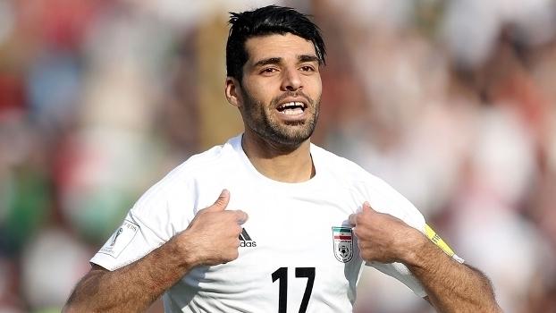 Veja o gol da vitória do Irã sobre a China por 1 a 0
