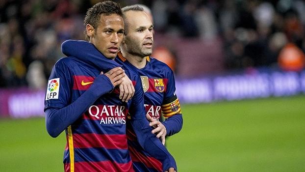 'Passe do pênalti era para mim', diz Neymar; Iniesta: 'O lance nos pegou desprevenidos'