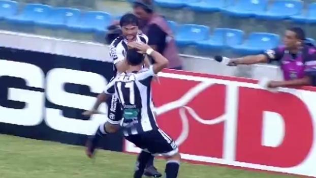 Série B: Gols de Ceará 3 x 0 Oeste