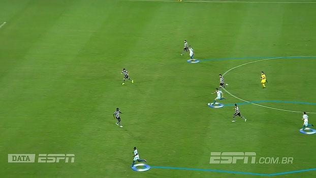 Com o DataESPN, Mauro mostra como o Avaí conseguiu vencer o Botafogo