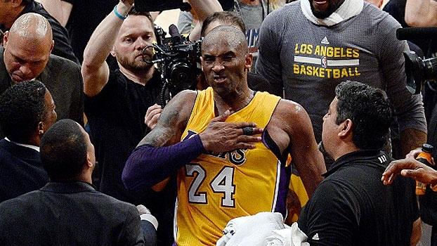 Veja os melhores momentos do último jogo de Kobe na NBA
