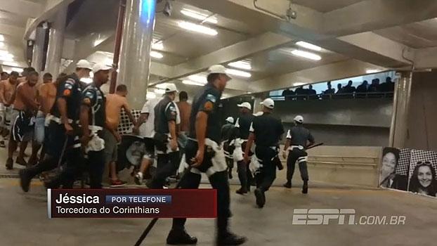 Torcedora do Corinthians critica: 'Tem gente que veste camisa da organizada e acha que vira super-homem'