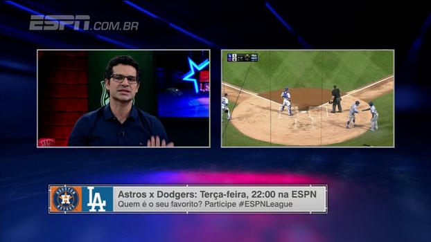 Paulo Antunes: 'Bullpen dos Dodgers está num outro nível em relação a Houston'