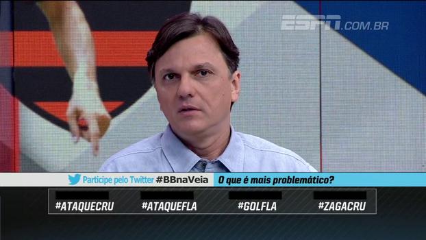 'Decisão tem que ter clima de rivalidade dentro dos limites da civilidade', diz Mauro sobre Fla x Cruzeiro