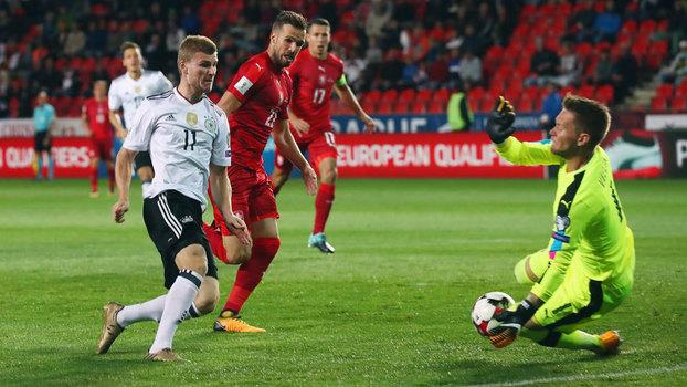 Assista aos gols da vitória da Alemanha sobre a República Tcheca por 2 a 1!
