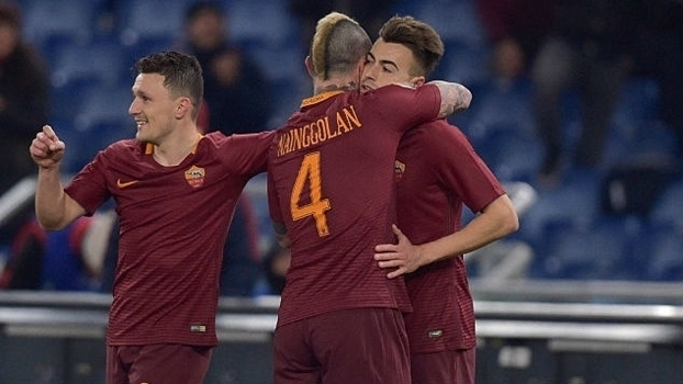 Copa da Itália - oitavas de final: Melhores momentos de Roma 4 x 0 Sampdoria