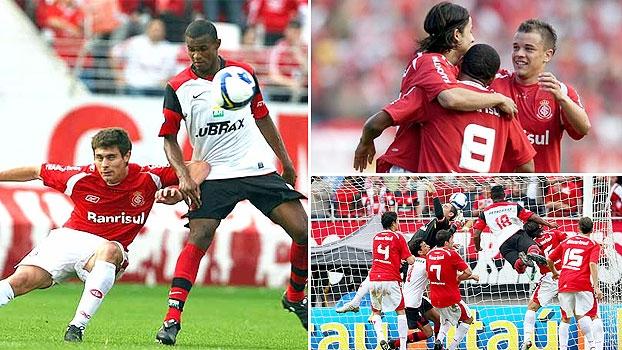 Inter X Flamengo De 2008 Teve Gols De Nilmar E Obina Em
