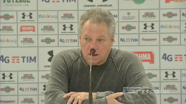 Abel agradece carinho de jogadores do Santos e lamenta sequência de empates
