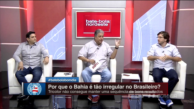 Para Gustavo Lucchesi, Bahia deveria dar chance ao trabalho de Preto: 'Devolveu velocidade ao time'