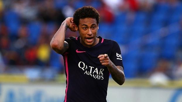 Dos quatro gols do Barcelona, Neymar marcou três e ainda deu assistência para o outro; veja