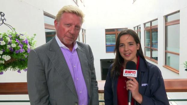 Em entrevista à ESPN Brasil, Boris Becker fala sobre Djokovic, Federer e de suas memórias de Wimbledon